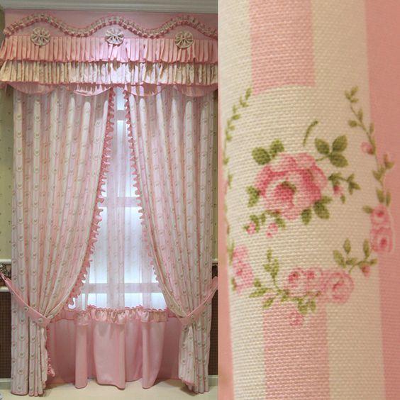 Pinterest flores de tela para cortinas buscar con google - Telas cortinas infantiles ...