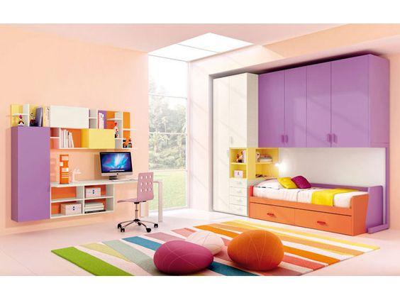 FERRIMOBILI Ponte Flex   Propone tante soluzioni colorate e divertenti per la camera dei ragazzi.