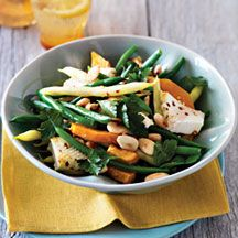 ... salad   Recipes - Salads   Pinterest   Green Beans, Ricotta and Beans