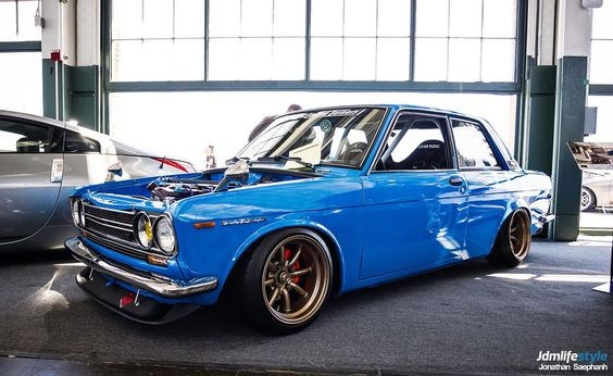 Datsun 510. I just love the 510. Such subtle beauty on this square frame.