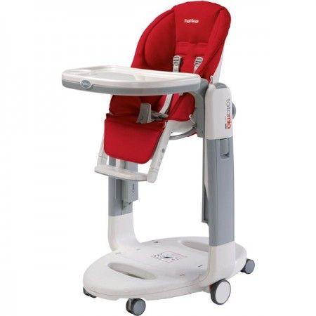 Chaise haute + transat Peg Perego