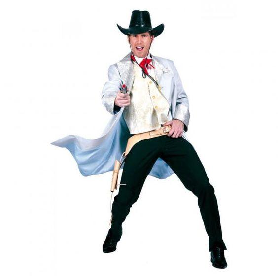Cowboy Herrenkostüm Jacke Kostüm Zubehör Fasching