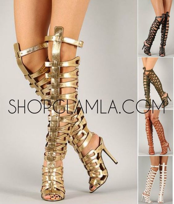Details about Breckelles Sexy Strappy High Heel Gladiator Sandal