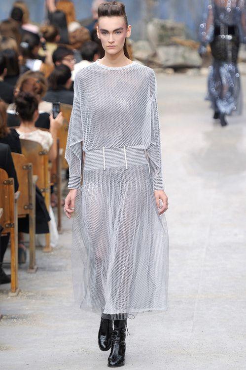 La collection Chanel haute couture automne-hiver 2013-2014