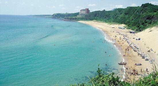 Bờ biển Jungmun đẹp lạ