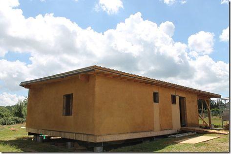 éco-construction  maison bois et paille Maison en Paille Pinterest - maison bois et paille