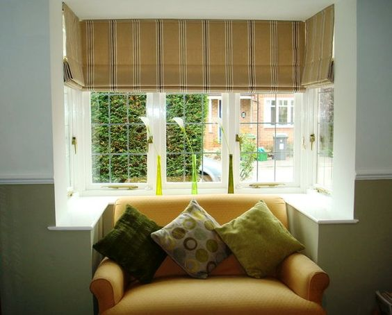 Blinds probably best for awkward window shape | Curtains ...