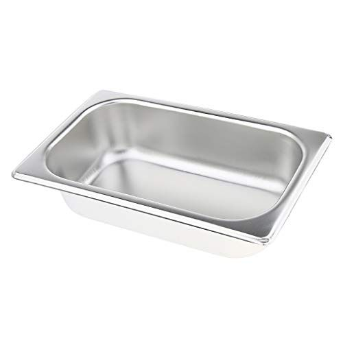 Baosity 1pc Special Steam Table Pan 1 4 Size 6 5cm Deep Stainless Steel Steel Stainless Steel