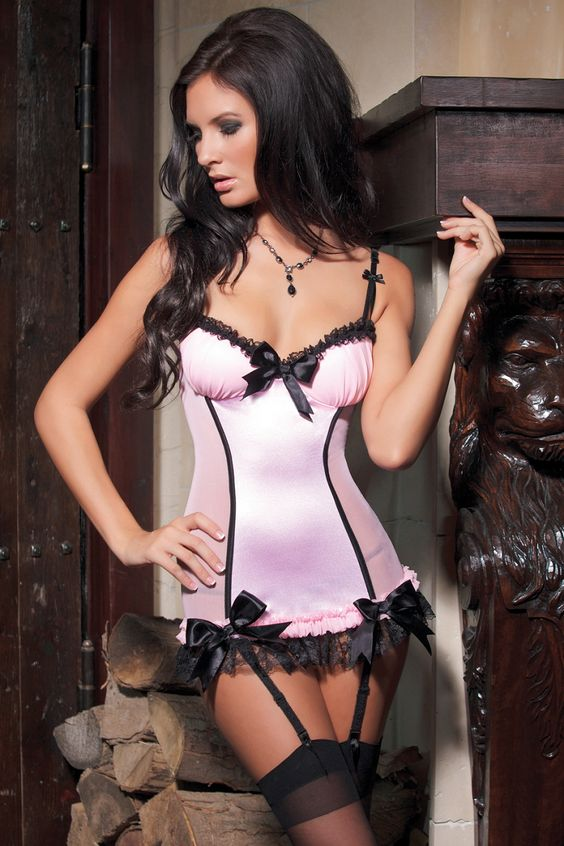 #lingerie #pink #purple #coquette