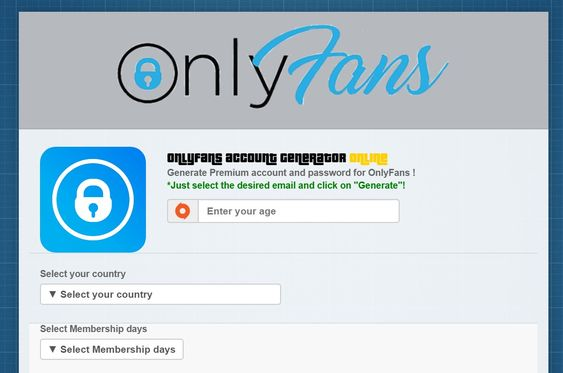 Onlyfans Hack Free Accounts And Passwords Premium Accounting Generation Free Offer