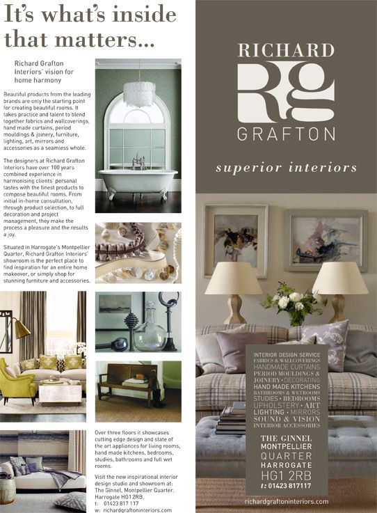 Interior Design Magazine Layout