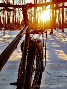 Click through to see an amazing video on snow biking in Michigan's Upper Peninsula.