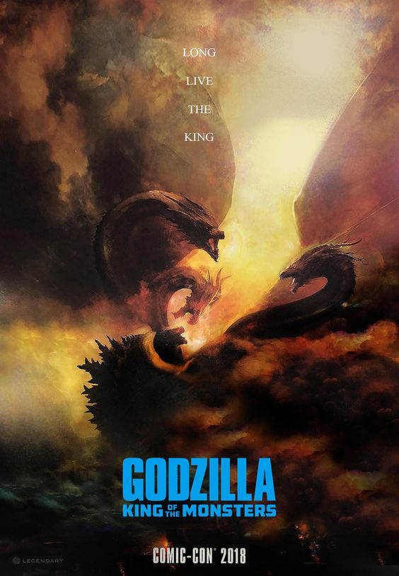 Comic Con poster for Godzilla: King of the Monsters