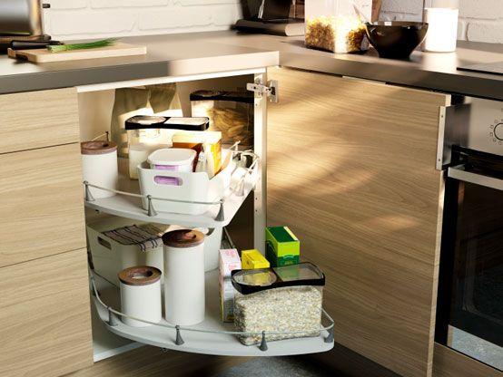 RATIONELL Corner Base Cabinet Carousel | Complete Kitchen | Pinterest |  Base Cabinet Carousels, Cabinet Carousels And Base Cabinets