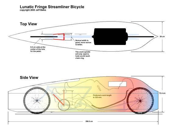 recumbent 3d bike models | The Recumbent Bicycle and Human Powered Vehicle Information Center
