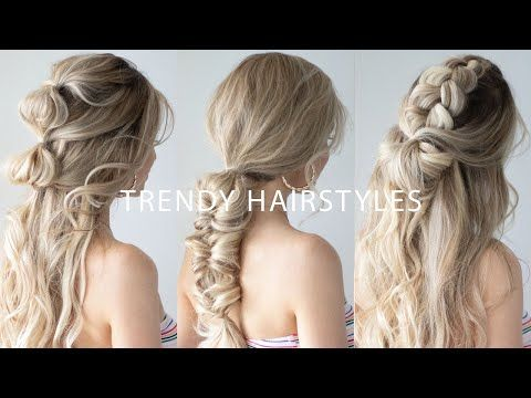I Am So Excited For Today S Hair Tutorial Because We Are Going To Recreate These Cute Trendy Summer Hairstyles That A Easy Hairstyles Hair Styles Hair Tutorial