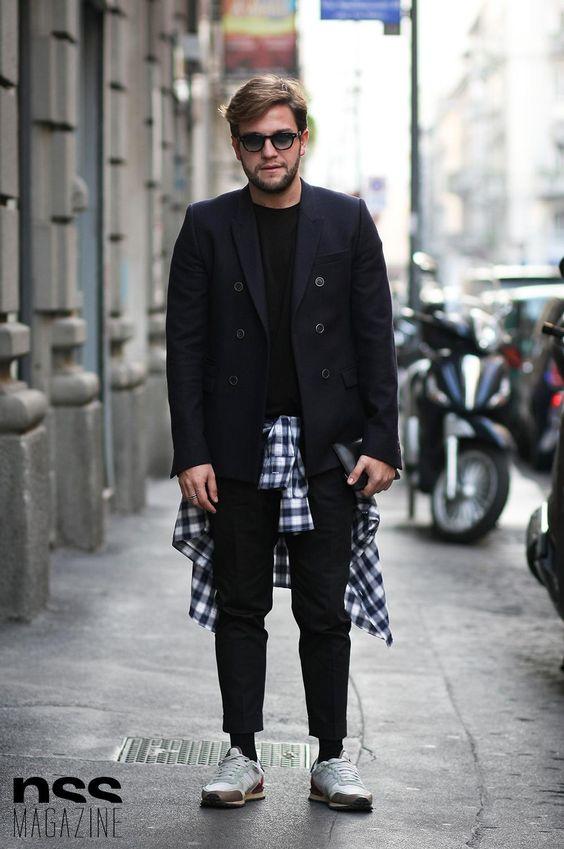 Domenico Iovine Streetstyle in Milan | nss magazine