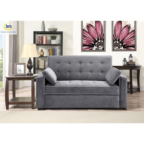Serta Augustus Convertible Queen Sofa Bed Convertible Sofa Sofa