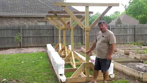 Rain Gutter Grow System Greenhouse Plans Gutter Garden Grow System