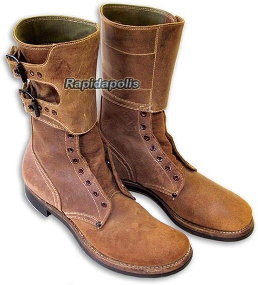 Genuine Corcoran USWW2 1944 Dated Two-Buckle Leather US COMBAT BOOTS size 9 B https://t.co/k05809rvcg https://t.co/VVOwc8UsoG
