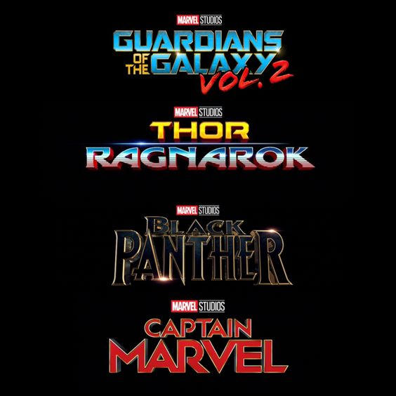 official logos for guardians of the galaxy vol2 thor
