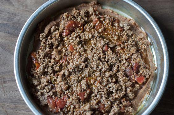 divianconner: Taco Lasagna & Pico De Gallo....