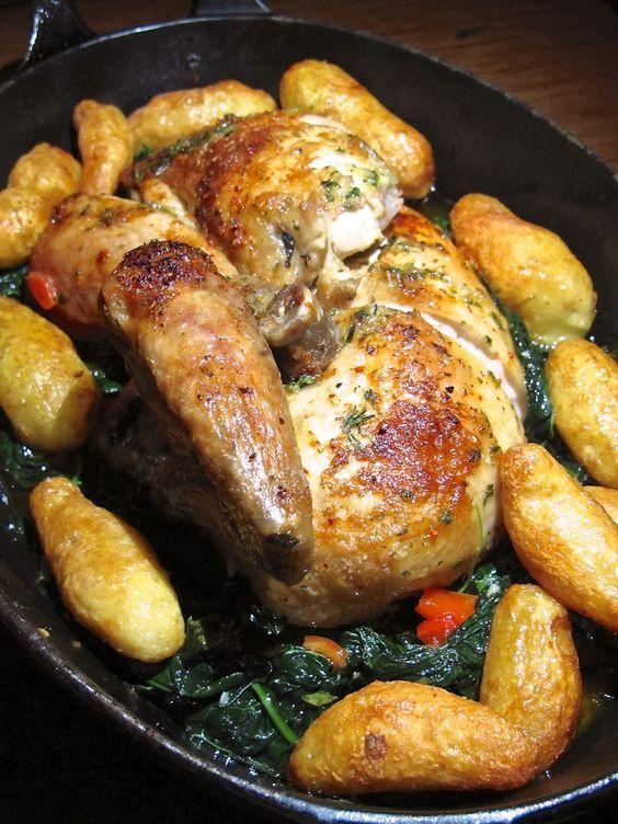 LA Restaurant, Republique's French style rotisserie chicken
