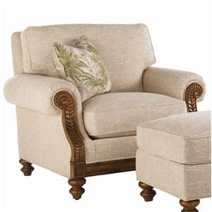 Island Estate Tropical West Shore Chair By Tommy Bahama Home Baer 39 S Furniture Upholstered