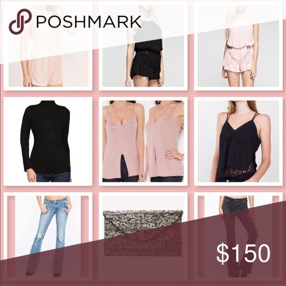 🆕 • AMAZING! BUNDLE BOX • Get Excited & treat yourself to an Amazing bundle containing 9 ALL BRAND NEW ITEMS worth more than listed price. You are welcome to use these items to start your very own closet, reposh/resell, keep yourself or gift it!💕Selling to expedite & downsize my inventory due to a move. Tops/Rompers size S.👖Choose a size: 3 - 5 - 7  Please note: Poshmark does not allow surprise/mystery boxes for returns/exchanges. All sales final. Price Firm. No Offers. Bundle option does…