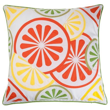 I pinned this Citurs Pillow in Orange from the EDIE event at Joss and Main!