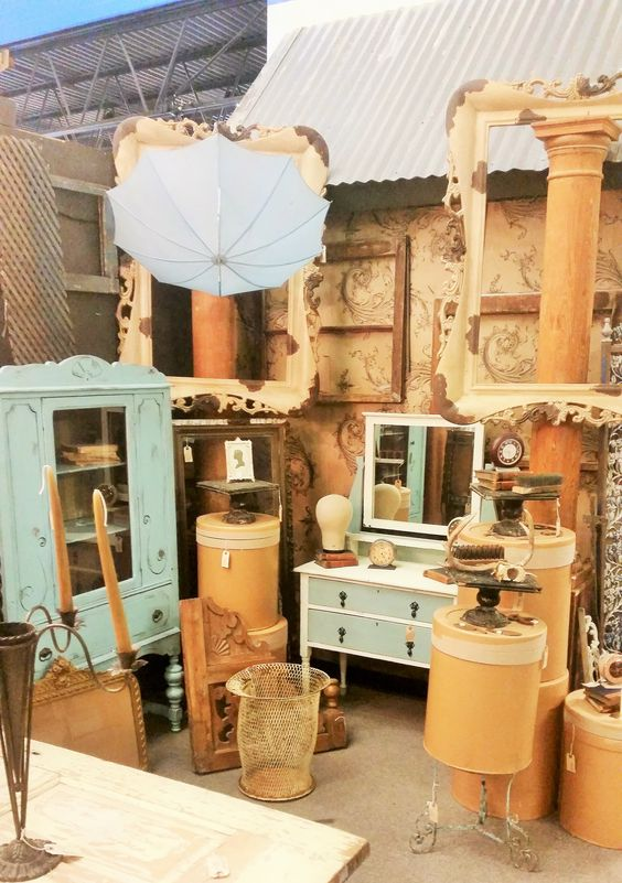 Booth at Grapevine Antique Market
