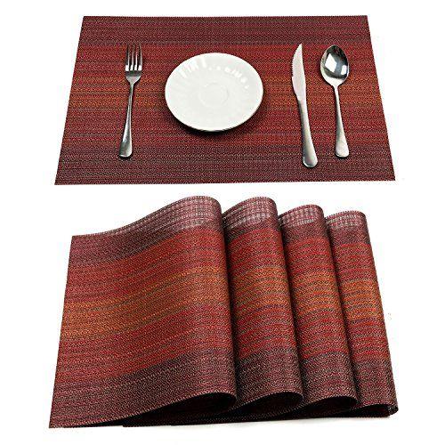 10 Best Placemat Sets Table Mats Woven Placemats Placemats