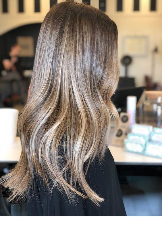 Diamond Color With Dark Roots Inspiring Ladies Hair Styles Brown Blonde Hair Balayage Hair