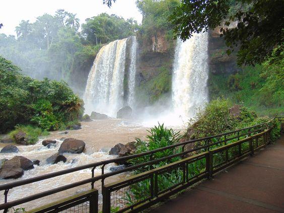 Cataratas Foz do Iguaçu - Argentina/Brasil / Simone Rodrigues