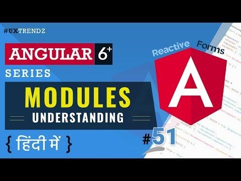 Modules In Angular In Hindi Angular Modules Angular 6