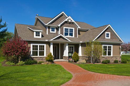 Schumacher home and house on pinterest for Custom dream homes