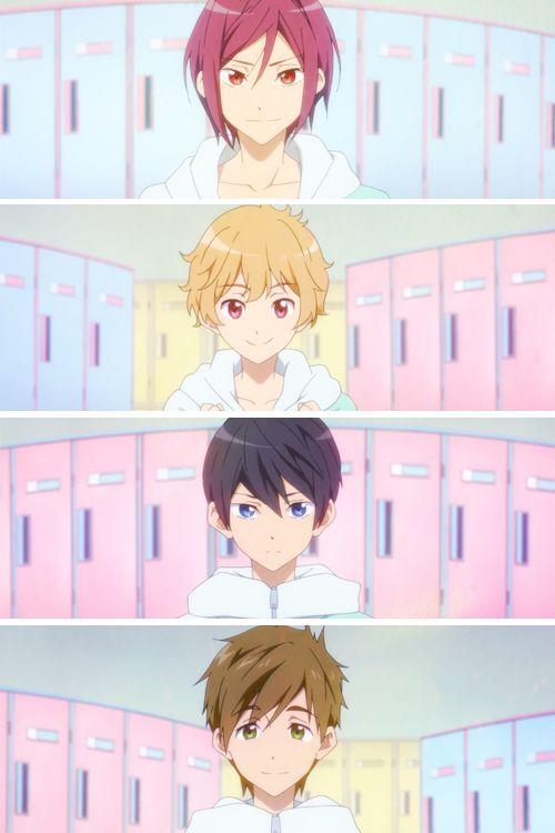 AWWWWWWWW X3 Rin, Nagisa, Haruka, Makoto 3 They shouldve added a young Rei )