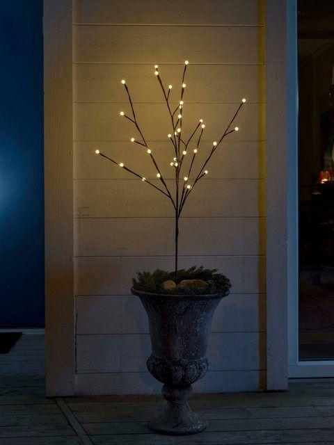 Konstsmide Led Lichterzweig Mir Runden Dioden In 2020 Weihnachtsbeleuchtung Led Und Lichtdekoration