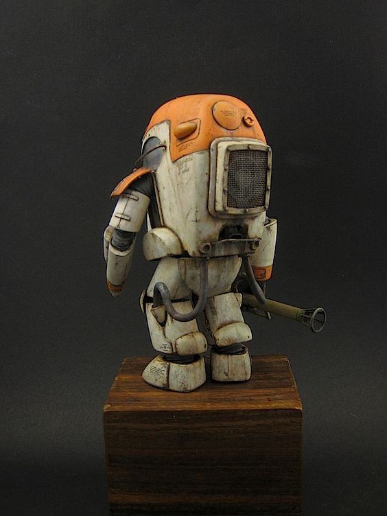 """Ma.K / SF3D / Maschinen Krieger PKA G """"Gustav"""" from Wave, built and painted by JSAN9"""