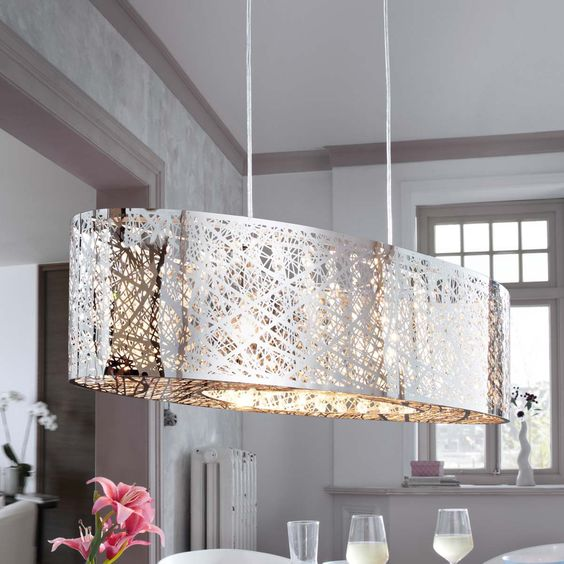 designer esstisch lampen