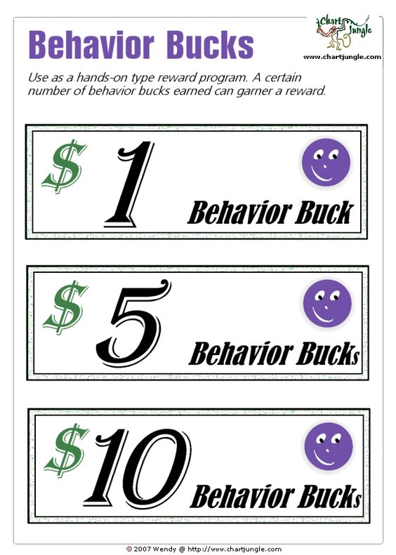 classroom bucks template - good behavior bucks template related keywords good