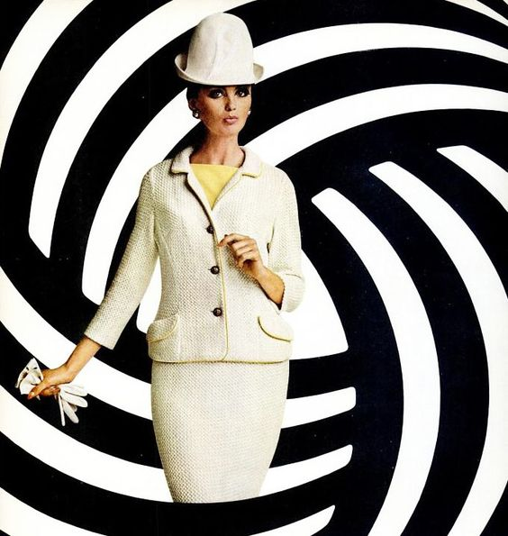 Advertisement for the Wool Bureau, 1964.Repinned by www.lecastingparisien.com