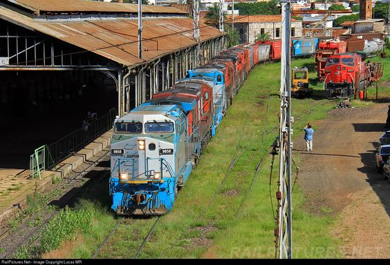 RailPictures.Net Photo: 9851 ALL - América Latina Logística GE AC44i at São Carlos, Brazil by Lucas MR