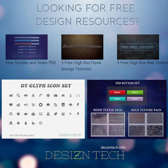Download free high res textures, icons, PSD file, template and more.. http://desizntech.info/category/freebies/