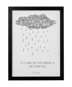 Cadre nuages Blooomingville 50500073: