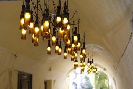 Oltre 1000 idee su Lampadario Bottiglia su Pinterest Lampadario ...
