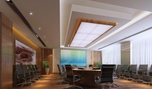 Pinterest the world s catalog of ideas for Modern conference room interior designs
