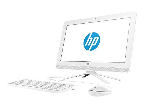 349 99 Hp 20c001na 19 Inch All In One Desktop Pc Snow White Amd E2 7110 1 8 Ghz 4 Gb Ram 1 Tb Hdd Amd Radeon R2 Graphics Windows 10 Home 19inch