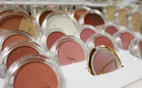 Beautiful blushes and bronzers