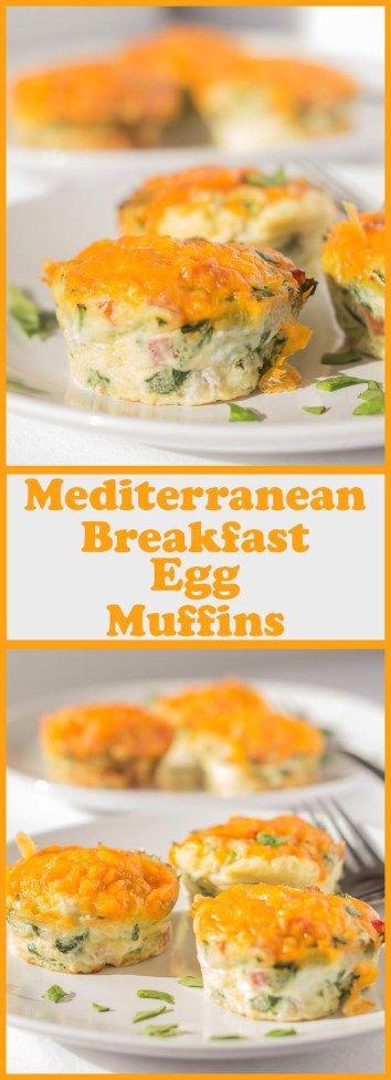 Mediterranean Breakfast Egg Muffins
